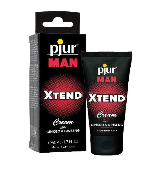 pjur MAN XTEND Cream 50 ml – krem dla mężczyzn poprawiający jakość erekcji