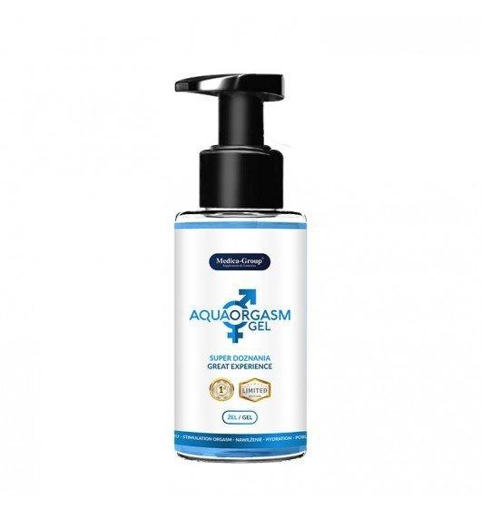 Medica Group Aqua Orgasm Gel 150 ml – Żel poślizgowy pobudzający doznania