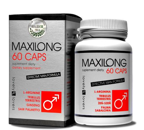 LOVELY LOVERS MAXILONG 60 kapsułek (tabletek) na powiększenie penisa