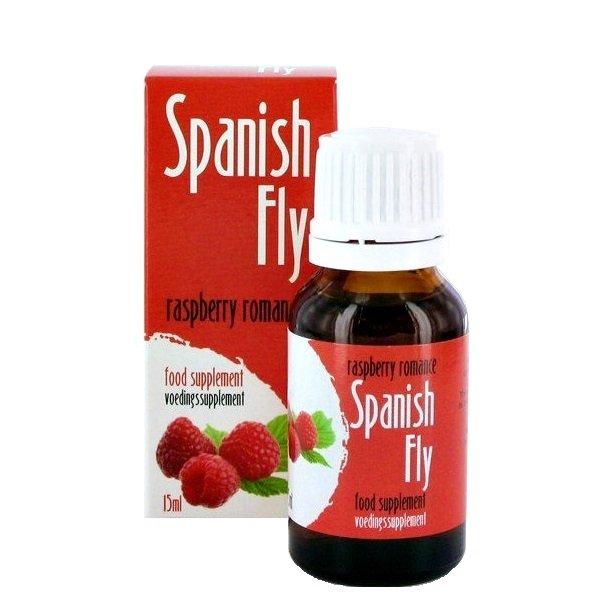 Spanish Fly Raspberry 15 ml – hiszpańska mucha o smaku malinowym