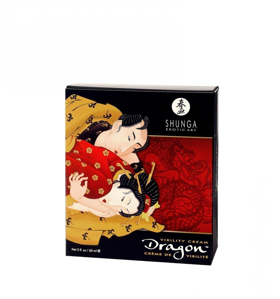 Shunga – Dragon Virility Cream  60 ml – krem poprawiający sprawność seksualną dla par