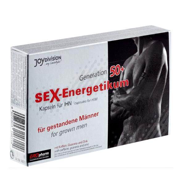 EROpharm Sex-Energetikum 50+ 40 kapsułek (tabletek) poprawiających potencję u mężczyzn