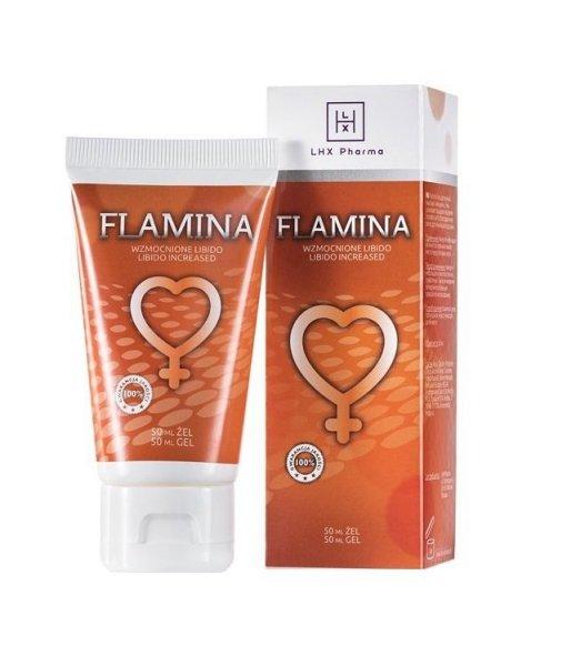 LHX FLAMINA 50ml żel podnoszący poziom libido u kobiet