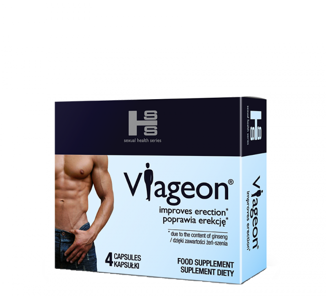 Viageon 4 tabletki na potencję u mężczyzn